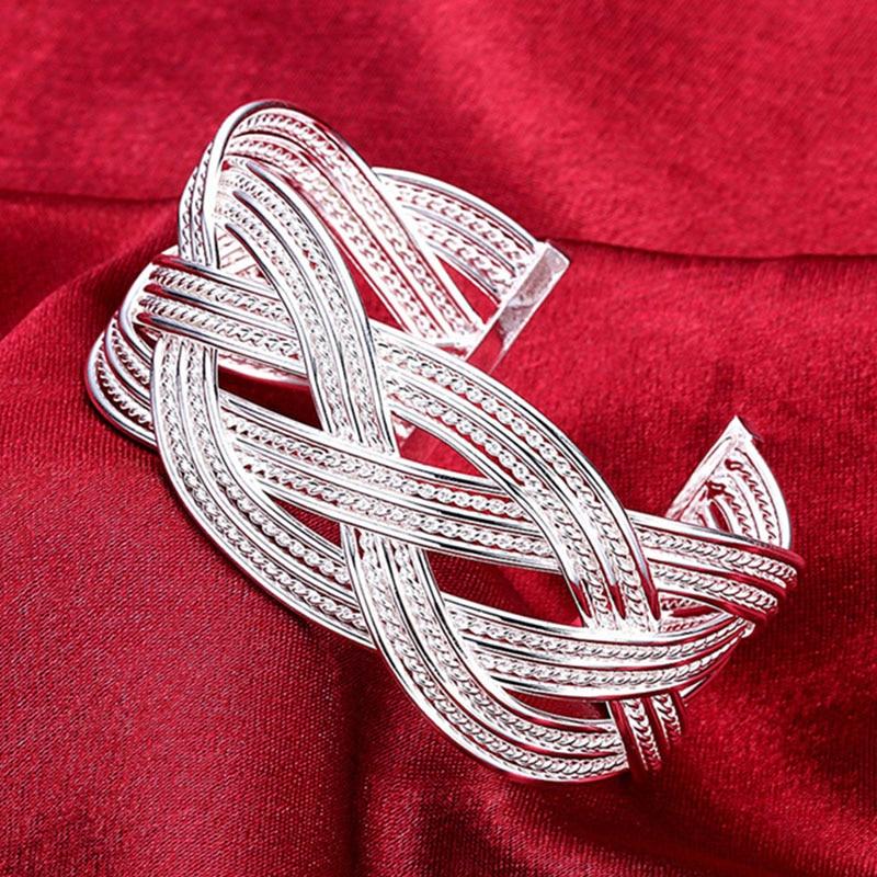 925 Silver Color Bracelet...