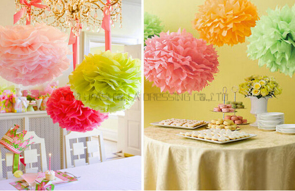 29 Colors available!! Giant flower paper balls birthday wall ...