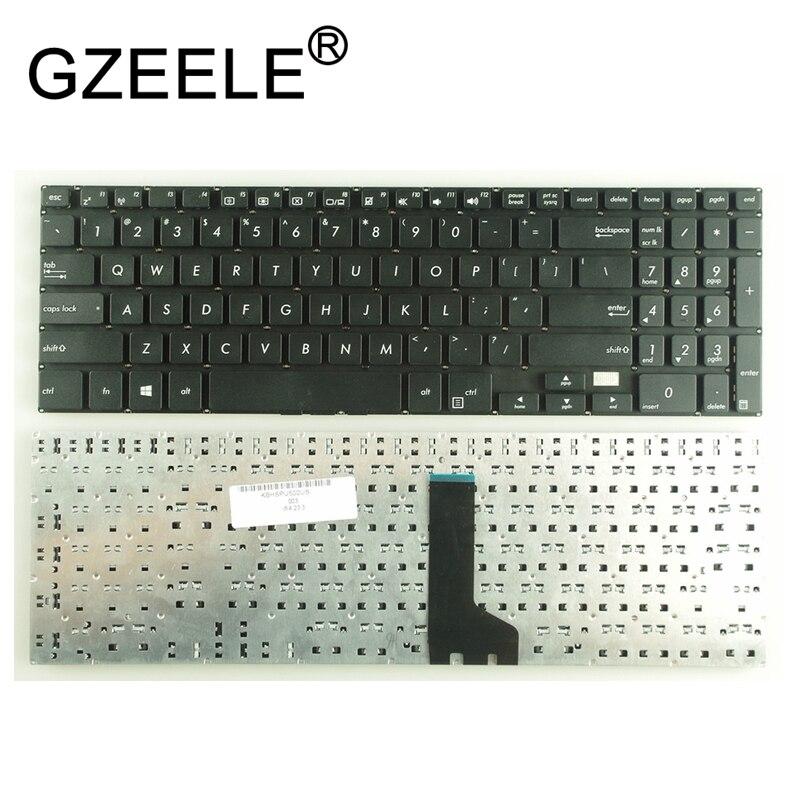 Ноутбук GZEELE с клавиатурой US для Asus Pro PU500, PU500CA, PU551, PU551JA, PU551LA, черный, WIN8, PN: MP-12N36GB-4421W, английский, без рамки