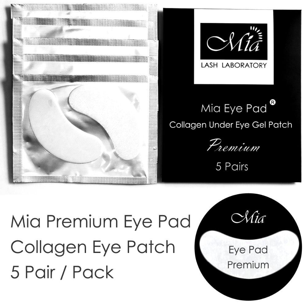 5 pares de luxo premium extensao dos cilios almofadas olho gel de colageno sob eye patch