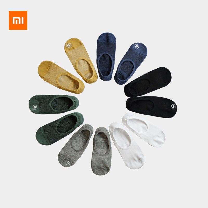 Xiaomi Mijia Antibacterial Men's Boat Socks Bacteriostatic deodorant Non-slip invisible Comfortable boat socks