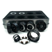 16pcs Set Speed BSB Original Brand Skate Bearings 608 ZrO2 Ceramic Ball ABEC 11 Skateboad Parts