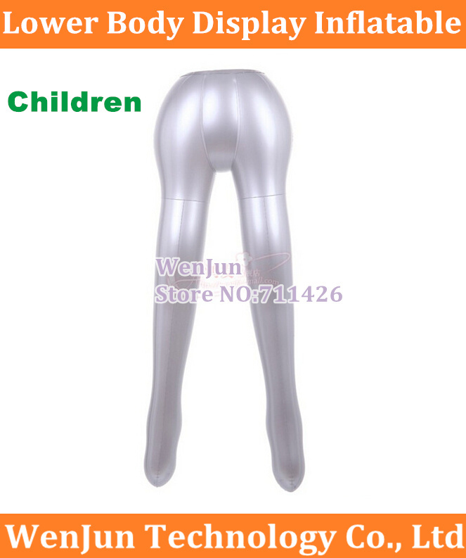 Computer Cables & Connectors Kids Pants Trou Underwear Inflatable Mannequin Children Half Body Dummy Torso Legs Model Show High Quality