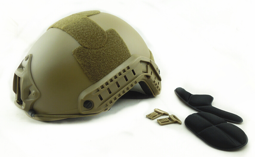 Promotion Military Army Protection Gear Fast Base Jump Outdoor Tactical Airsoft CS Wargame Helmet