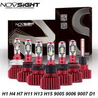 NOVSIGHT Lampada Led H4 H7 H11 H8 H9 H13 H15 Car Led Headlights Hi Lo Beam