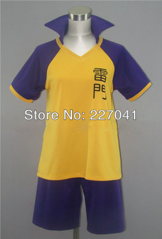 Inazuma Eleven GO Academy Shiro Fubuki Soccer Team Club Short Uniform