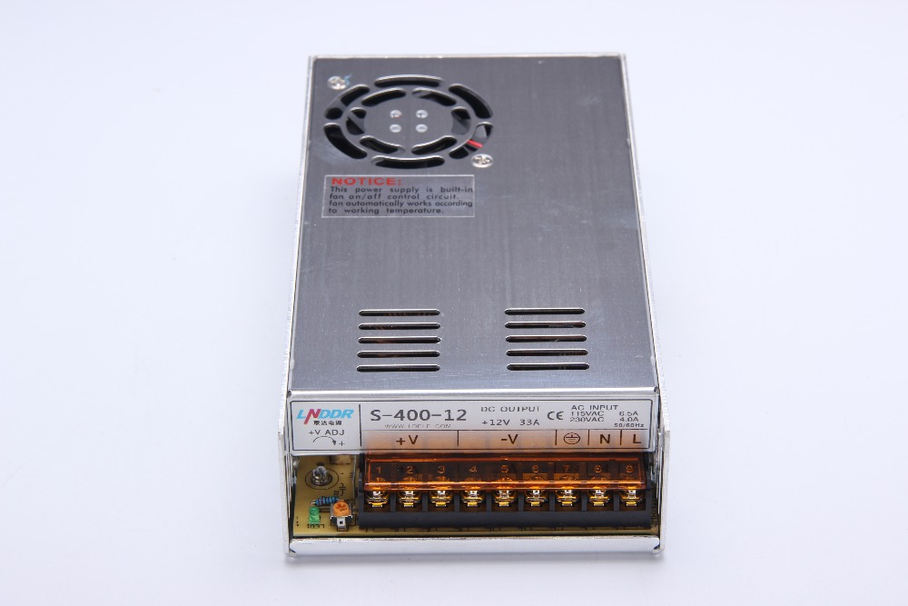 Best quality 24V 16.5A 400W Switching Power Supply Driver for LED Strip AC 100-240V Input to DC 24V free shipping цена