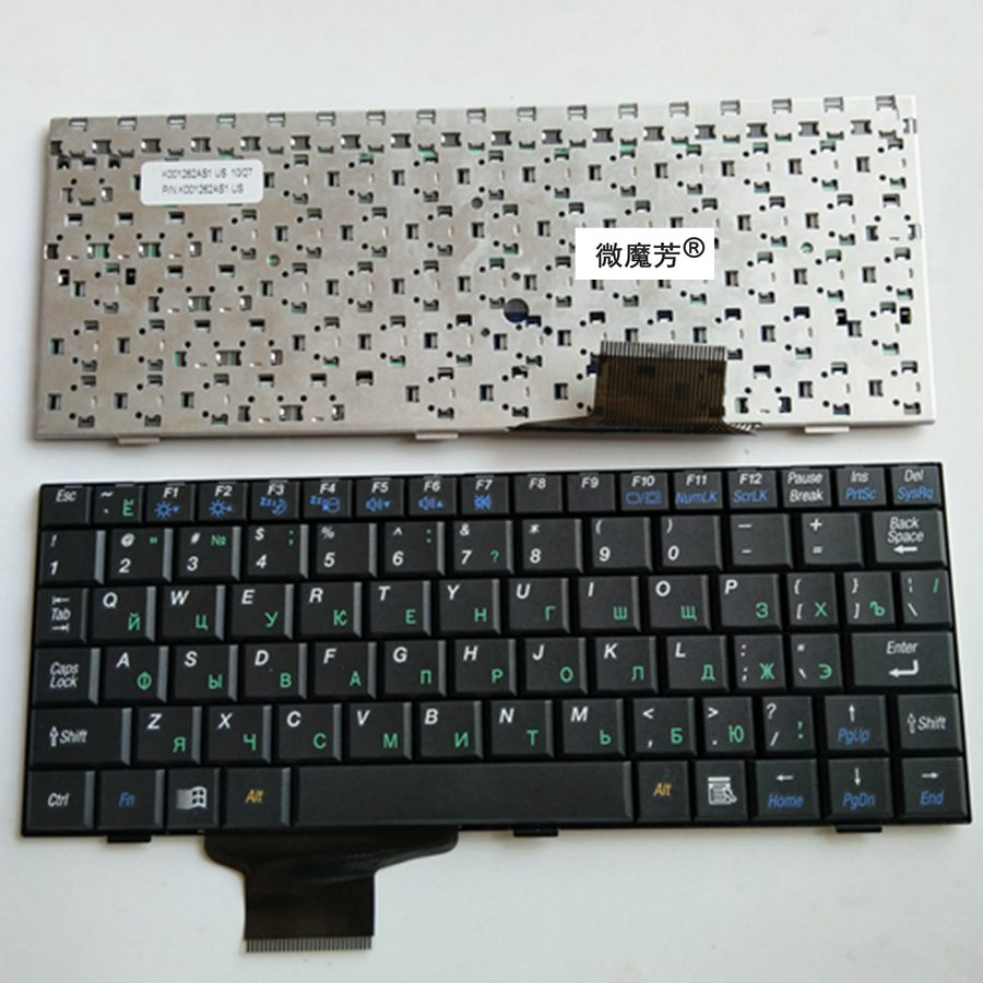 RU Black New FOR ASUS EPC 700 700HA 701SD 900 702 2G 8G 900 900HD 900A 901 902 4G Laptop Keyboard Russian