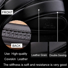 Formal Automatic Buckle Leather Belt