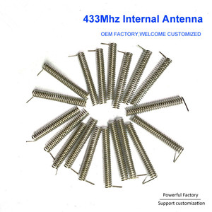 Image 5 - Custom phosphor bronze/nickel plated 2dbi internal PCB spring 433Mhz coil antenna 100PCS/batch
