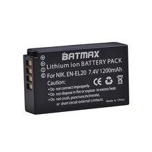 Batterie d'appareil photo numérique Rechargeable, haute qualité, 7.4V, EN-EL20 EN EL20 ENEL20 pour Nikon EN-EL20a 1 J1 J2 J3 S1