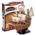 DIY Креативные Игрушки 3D Головоломки Модель Santa Maria корабль Модель Кирпичи Игрушки для Детей Развивающие игрушки