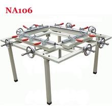 1PC Hand wheel single chuck machinery stretcher machine,NA105 net head tension device machine Net area 1500*1200mm
