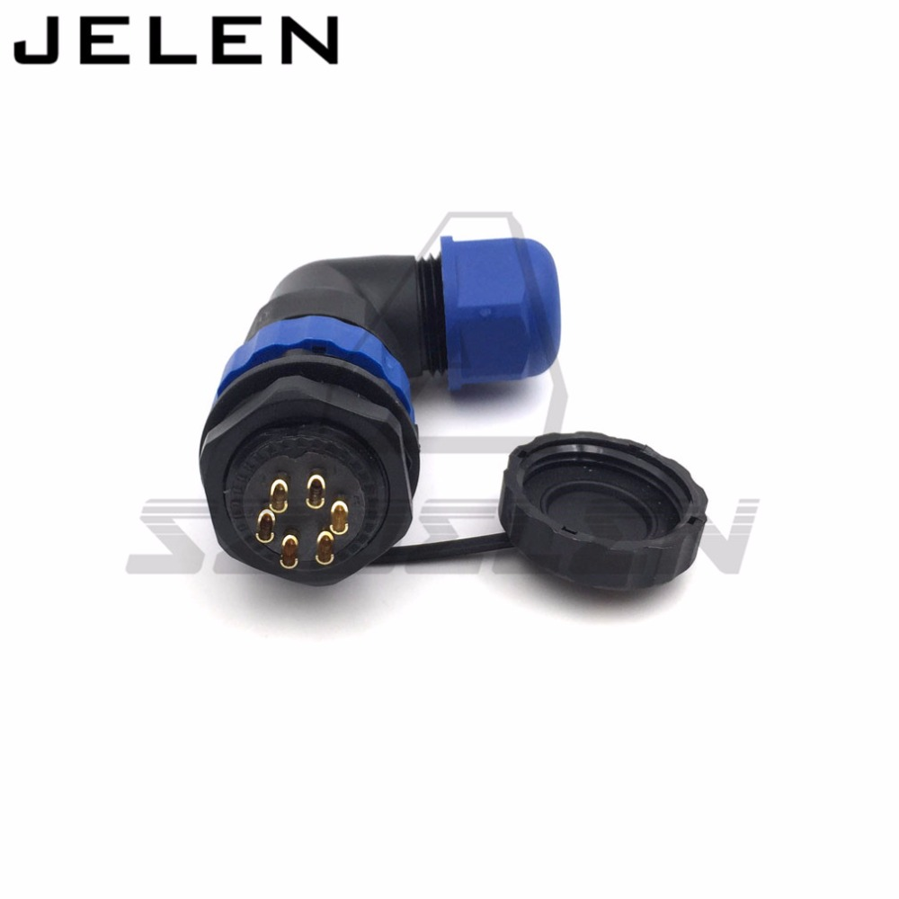 D20TA-ZM, 90 degree elbow waterproof connector 6 pin cable connector Male plug Femal socket ip67 usb 3 0 19p 20p 19 pin 20 pin usb3 0 male socket 90 degree motherboard chassis front seat expansion connector and bracket cable