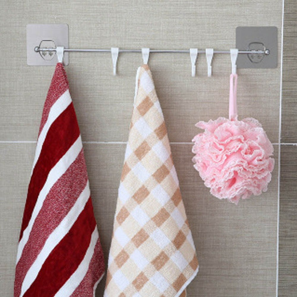 Hot Bathroom Kitchen Shelf Double Suction Cup Storage Rack Kitchen Sundries Rack Toilet Wall Mounted Storage Towel Holder