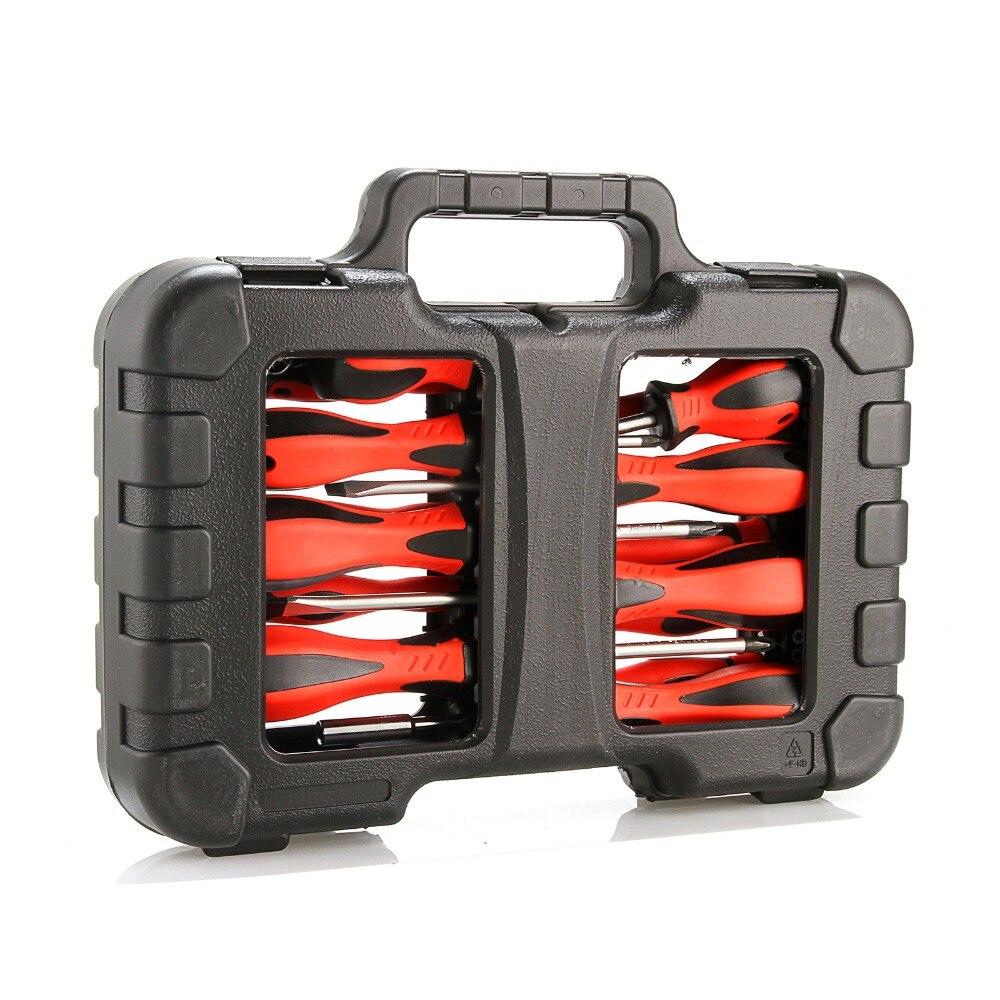 Ensemble de tournevis Julydream 58 pièces/ensemble Kit d'outils de réparation ensemble d'outils à main multifonctions magnétiques pour tournevis d'ordinateur de téléphone