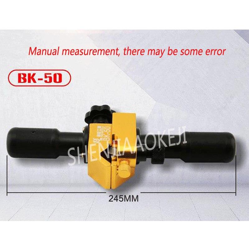 Outils de sertissage hydrauliques de dénudeur de fil de câble BK 50 acier allié - 4