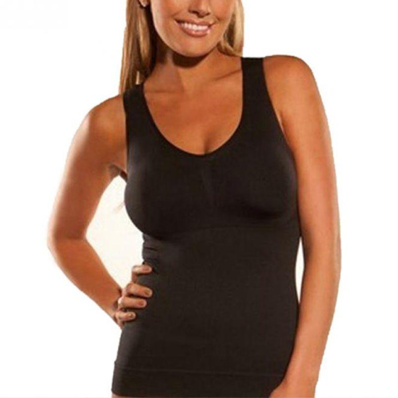 Hot Shapers Slim Up Lift extraíble talla grande sujetador Cami Tank - Ropa de mujer