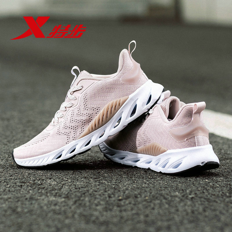 881218119066 X FLOW XTEP Women Runnning Shoe Light Weight Air Mesh Damping Breathable Women's Sport Sneakers Running Shoes