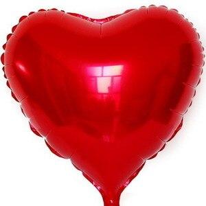 Image 2 - Wedding Ballon Supersize 75cm Red Heart Shape Foil Balloon Wedding Decoration Say Love Marriage Inflatable Party Ballon Supplies