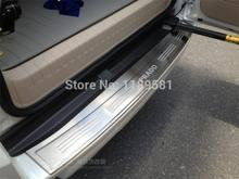 For Toyota Prado FJ150 2014 2015 2016 Stainless Steel Rear Bumper Sill Protector Trim new