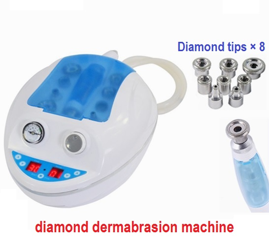 2017 New arrival electric diamond skin peeling device, face lifting whitening cleanser for spot acne removal deep face cleansing brush facial cleanser 2 speeds electric face wash machine