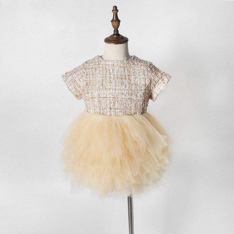 Moda formalna dziewczynek sukienka letnia suknia Baby Girl Party - Odzież dla niemowląt - Zdjęcie 3