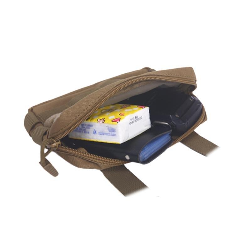 Military-Backpack Pouch Waist-Bag Tactical-Bag Canvas Hiking Sports Bolsa Phone-Keys-Holder