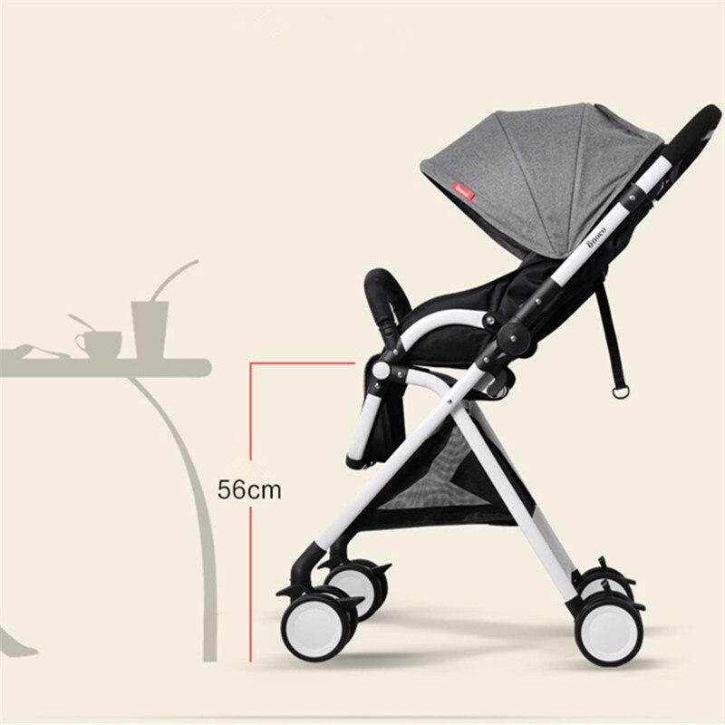 Poussette bébé Portable Mini taille landau pour nouveau-nés 3 en 1 landau poussettes peuvent s'asseoir ou mentir Bebek Arabasi Poussette
