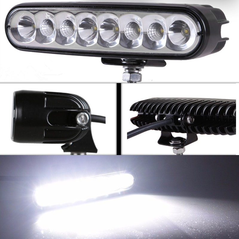 Brand New Universal 40 w 6 inch 12 v  led car work light daytime running lights combo light  off road 4 x 4 truck light пудра new brand 4 teint 15g 6 nw35 55