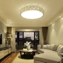 Modern Dimmable Led Ceiling Lights Round Lamp Hanging with Remote Control Bedroom Indoor Nordic luminaires