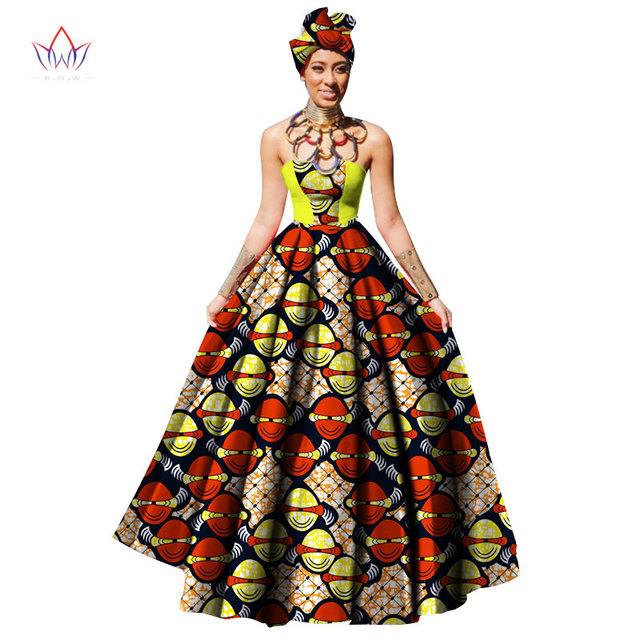 African Print Dresses For Women Wax Print Dresses For Women African