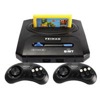 Classic ostalgic TV Video Game Console 8 bit Game Console & 400 in 1 Retro games Double Gamepads PAL & NTSC system