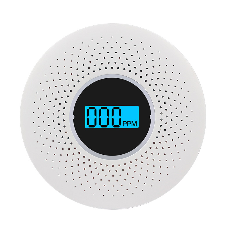High Sensitive Standalone Photoelectric Smoke Carbon Monoxide Compound Alarm For Indoor Home