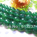 Green agate natural stone 4mm 6mm  8mm 10mm 12mm 14mm faceted round onyx loose beads high quality women diy jewelry 15inch GE831