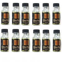 HARMONY 12 Bottles Walker Brand ultra hold lace wig glue for wigs and adhesive tape hair extensions ( 0.5OZ 15ML per bottle)