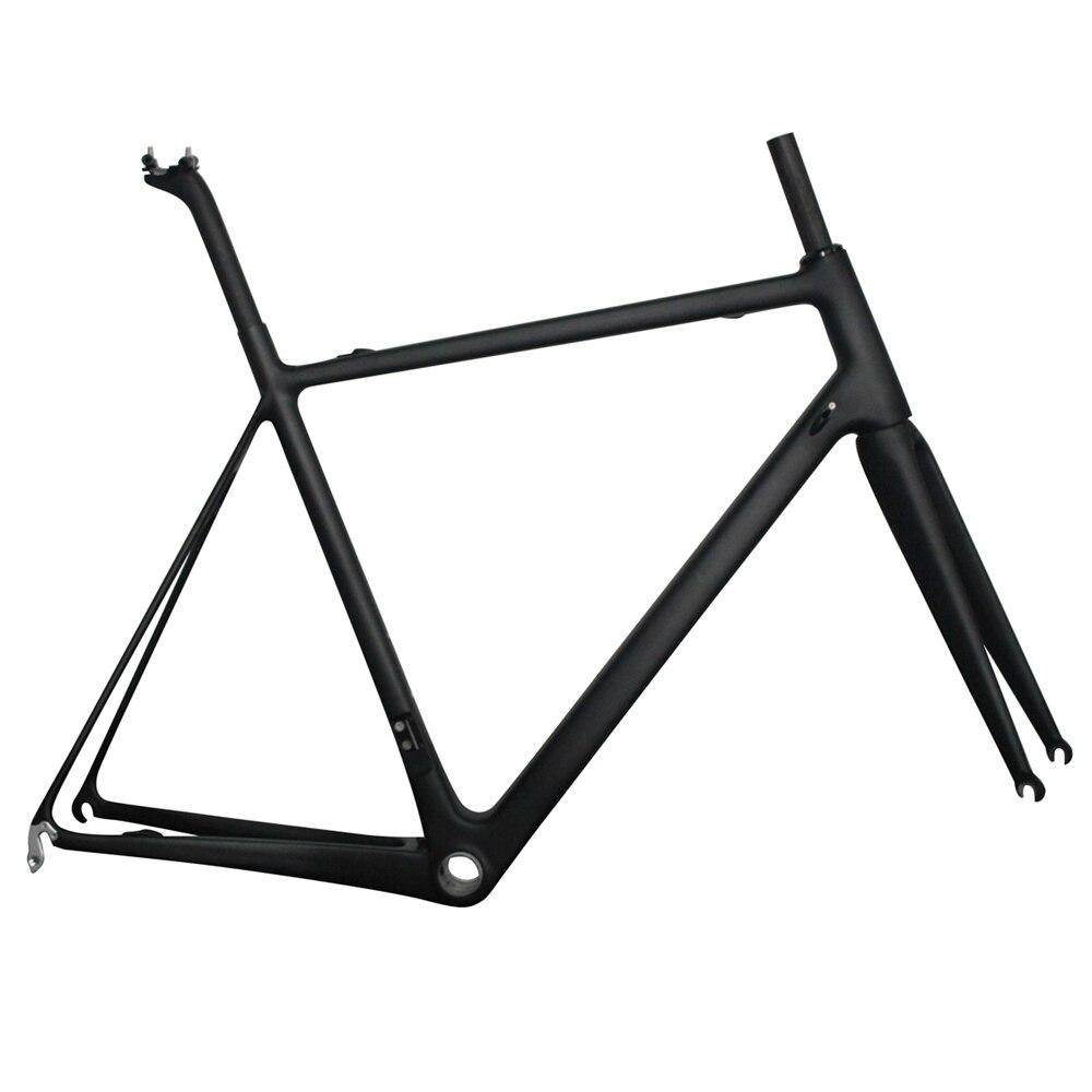 850g super light carbon road bike frame 56cm BB86 or BB30 Toray Carbon racing frame UD matt