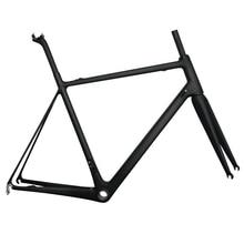850g super light carbon road bike frame 56cm BB86 or BB30 Toray Carbon racing frame UD matt цена в Москве и Питере