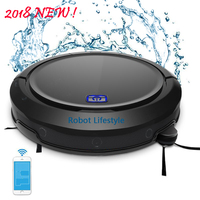 Smartphone stofzuiger APP robot vacuum cleaner wet and dry QQ9 aspiradora upgrade from QQ6 free ship from Spain and Russia