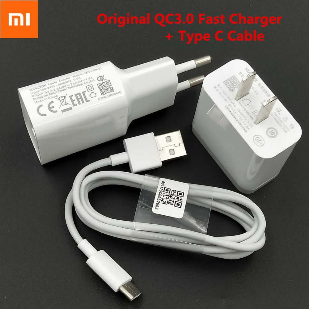 XIAOMI Redmi Note 7 Fast Charger Quick Charge USB wall ...