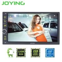 7 Joying Quad Core GPS Navigation 1024 600 HD 2 Din Android 5 1 1 Car