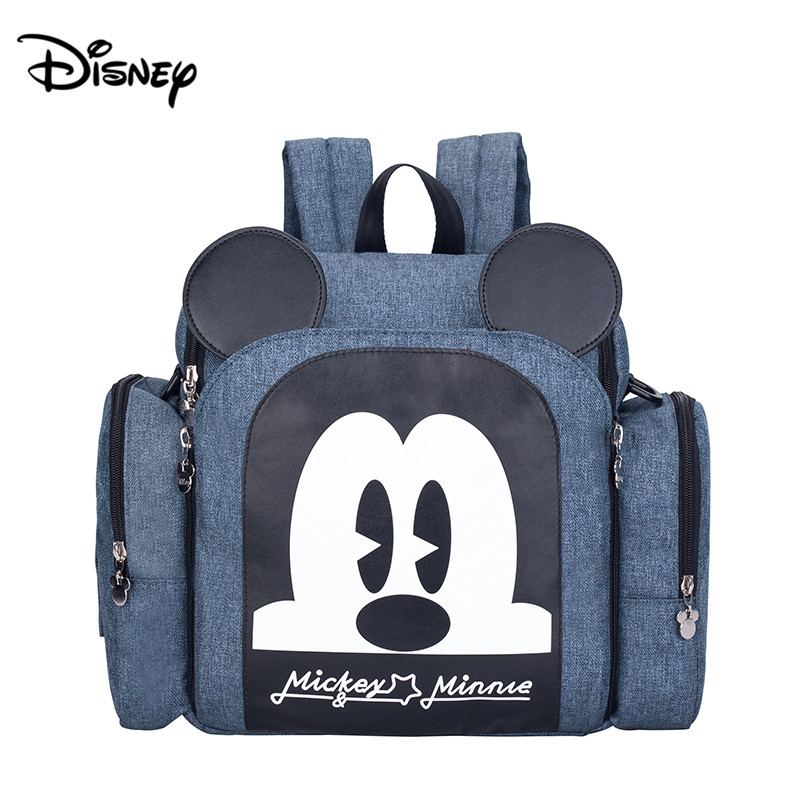 Disney's New Large-capacity Dining Chair Bag Baby Eating Chair Bag Out Of The Increase Light Portable Multi-function Mummy Bag