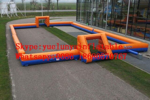 2016 новый Завод прямые Надувные игры, Надувные футбол, надувные футбольные KYG-74
