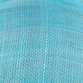 Элегантные шляпки из соломки синамей с вуалеткой хорошее Свадебные шляпы высокого качества черного цвета Клубная кепка очень хорошее 17 цветов MSF099 - Цвет: Небесно-голубой