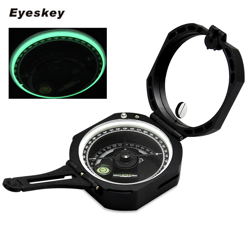 Eyeskey Professional Multifunction Geological Compass Lightweight Military Outdoor Survival Camping Equipment Pocket Compass