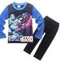 5 Star Wars pcs2017 Otoño Pijama de Primavera ropa de Dormir para Niños de Manga Larga Pijama Pijamas de Los Niños de Los Niños Trajes de Algodón Pijama H682