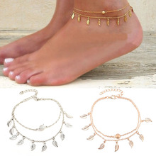 Double Layer Elegant Beach Anklets