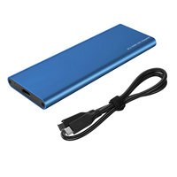 USB 3.1 Type C to M.2 NVMe SSD Mobile Box for Hard Disk External HDD Enclosure M Key PCI E NVMe SSD Case for 2230 2242 2260 2280