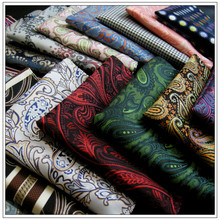 Mens Pocket Square Multicolor Yarn Dyed Jacquard Woven Hanky Silk Brand New Fashion  Classic Wedding Handkerchief