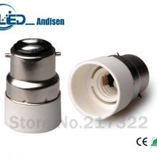 B22 для E14 адаптер переходник для розетки высокое качество Материал огнестойкий материал e14 гнездо адаптера держатель лампы